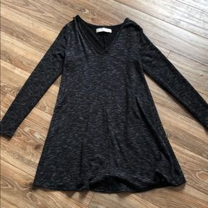 NWOT Black Skater Dress